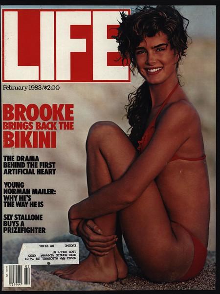 1983 Brooke Shields Vintage Life Magazine Cover Only  Ebay-4925